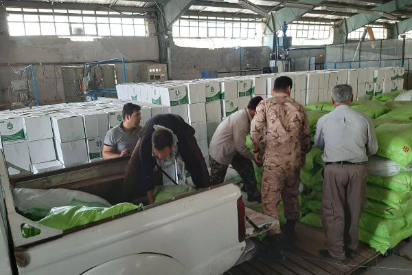 توزیع ۳هزار پک موادغذایی و بیش از۲هزارکارت هدیه بین روستانشینان منطقه محروم سرپلذهاب